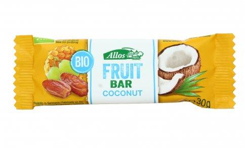 Barretta di Frutta e Cocco - Fruit Bar Coconut