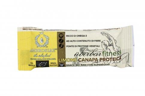Barretta Bio con Limone e Canapa Proteica