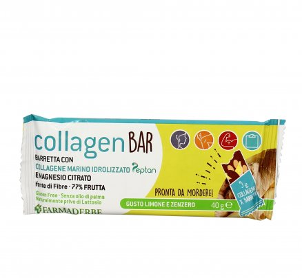 Barretta Sport con Collagene al Limone e Zenzero - Collagen Bar