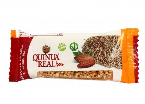 Barretta Croccante Mandorla e Quinoa Bio
