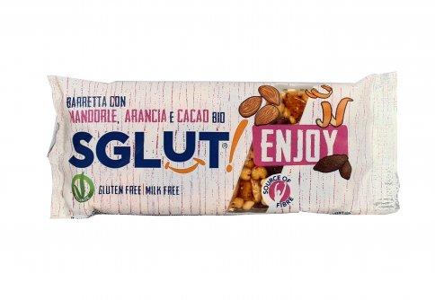 Barretta con Mandorle, Arancia e Cacao Bio