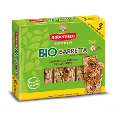 Barretta con Mango Quinoa e Gelso Nero Bio 3x25g