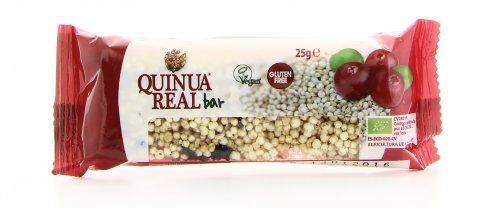 Barretta di Quinoa con Cranberries