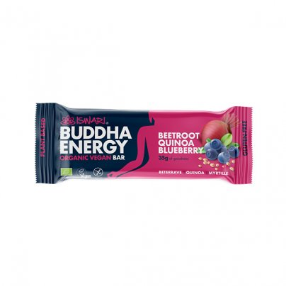 Barretta Vegan Barbabietola, Quinoa e Mirtilli - Buddha Energy