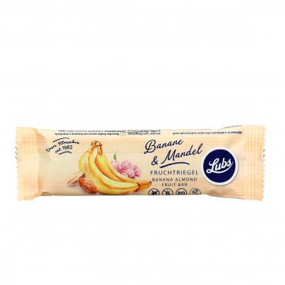 Barretta Bio Banana e Mandorla - Senza Glutine