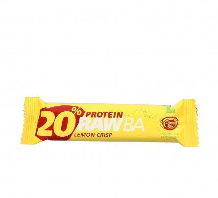 Barretta Proteica Spirulina e Limone - 20% Protein RawBa