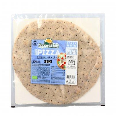 Base per Pizza Integrale Senza Glutine Bio