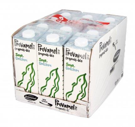 Bevanda Vegetale di Soia con Calcio - Bauletto 12x1 litro