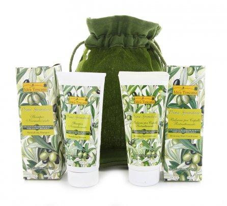 Beauty Case Verde Shampoo e Balsamo