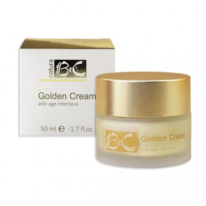 Crema Viso Antirughe Golden Cream - Intensive Anti-Age