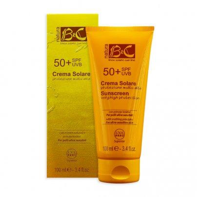 Crema Solare Protezione Molto Alta - Spf50+