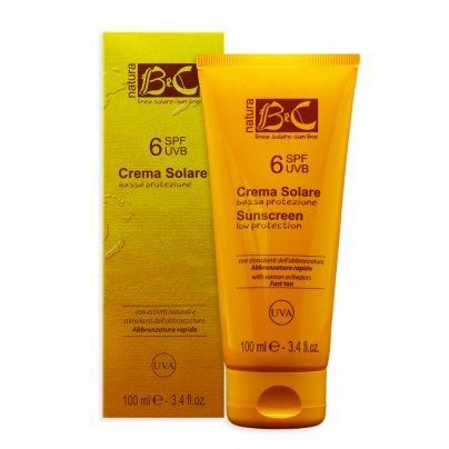Crema Solare Protezione Bassa - Spf6