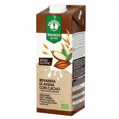 Bevanda Bio di Avena con Cacao - Senza Glutine