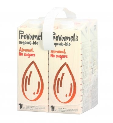Bevanda di Mandorla Senza Zuccheri - Bauletto 4x1 litro