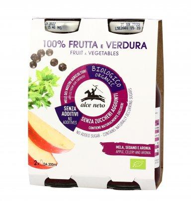 Bevanda Bio 100% Frutta e Verdura con Mela, Sedano e Aronia
