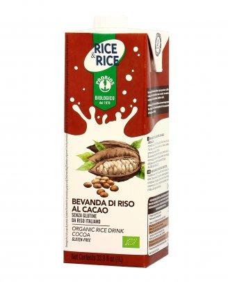 Bevanda di Riso al Cacao Bio - Senza Glutine