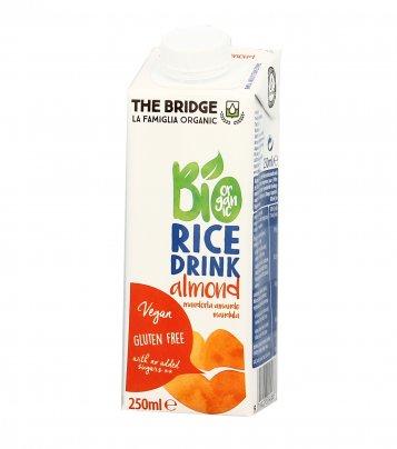 Bevanda Bio di Riso con Mandorla - Senza Glutine 250 ml