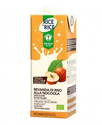 Bevanda Vegetale di Riso con Nocciola - Rice & Rice