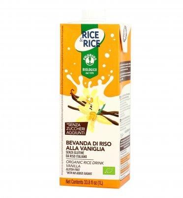 Bevanda di Riso alla Vaniglia Bio