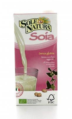 Bevanda Vegetale di Soia - Sole e Natura