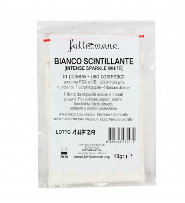 Bianco Scintillante Intense Sparkle White - Pigmenti per Cosmetici