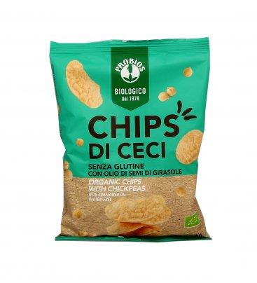 Chips di Ceci Bio - Senza Glutine