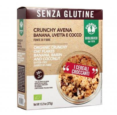 Bio Crunchy con Avena Banana Uvetta e Cocco