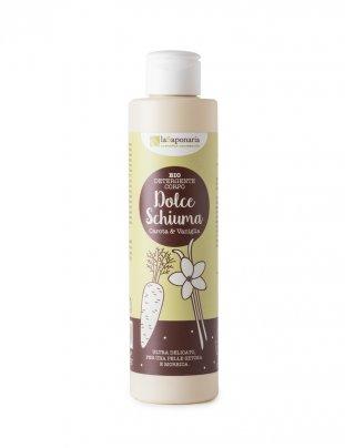 Detergente Corpo Carota e Vaniglia - Dolce Schiuma