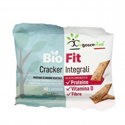 "Cracker Integrali con Proteine ""Bio Fit"""
