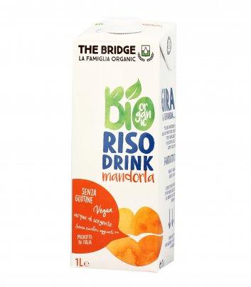 Bevanda Bio di Riso con Mandorla - Senza Glutine 1000 ml