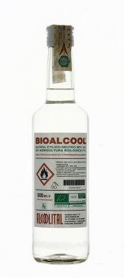 Alcool Etilico Neutro Biologico - Bioalcool 500 ml