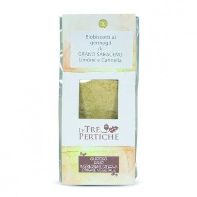 Biscotti Bio ai Germogli di Grano Saraceno Limone e Cannella