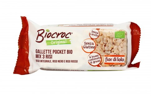 Gallette Pocket Bio Mix 3 Risi - Biocroc
