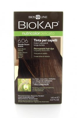 Biokap Nutricolor Delicato Tinta 6.06 - Biondo Scuro Avana