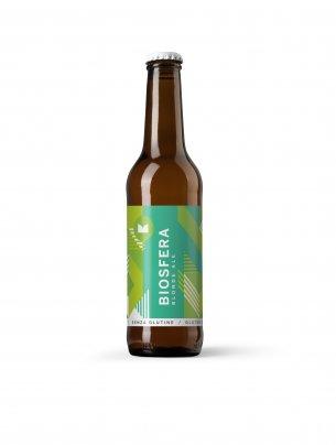 """Birra Biologica Blonde Ale Senza Glutine """"Biosfera"""""""