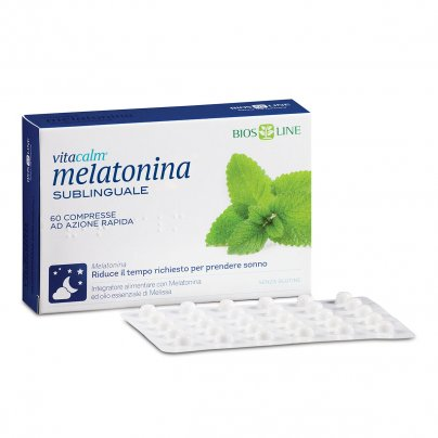 Melatonina Sublinguale VitaCalm