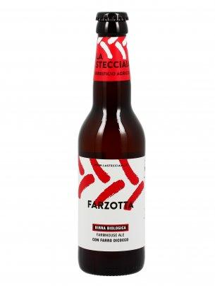 Birra Biologica con Farro Dicocco - Farzotta 330 ml