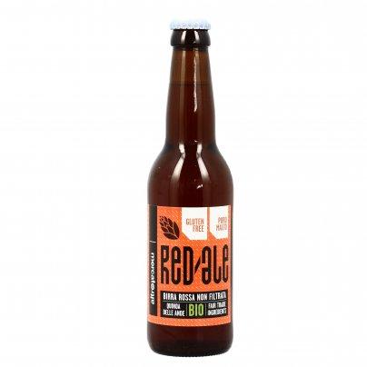 """Birra Rossa Artigianale Bio alla Quinoa Senza Glutine """"Red Ale"""""""