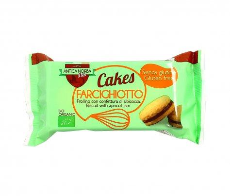 Biscotti Frollini con Confettura Albicocca Senza Glutine - Farcighiotto