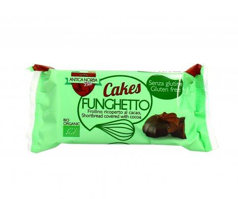 Biscotti Frollini Cacao con Cioccolato Fondente Senza Glutine