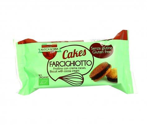 Biscotti Frollini con Crema Cacao Senza Glutine - Farcighiotto