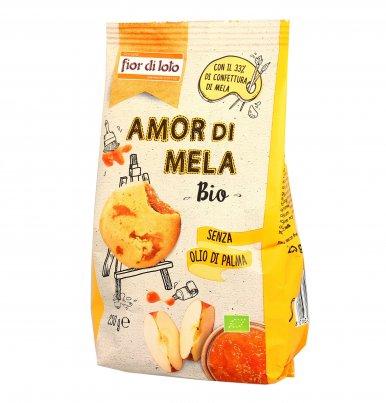 """Biscotti Bio con Confettura """"Amor di Mela"""""""