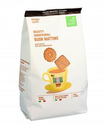 """Biscotti Bio Semintegrali di Grano Tenero """"Buon Mattino"""""""