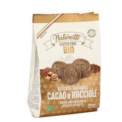 Biscotti Bio Senza Glutine con Cacao e Nocciole