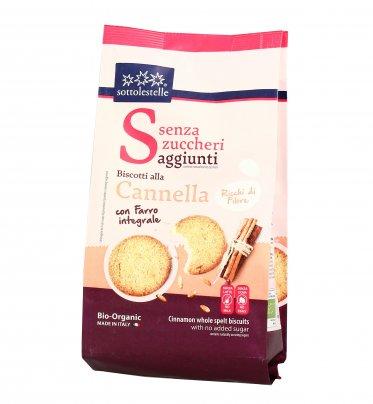Biscotti alla Cannella con Farro Integrale - Senza Zuccheri Aggiunti