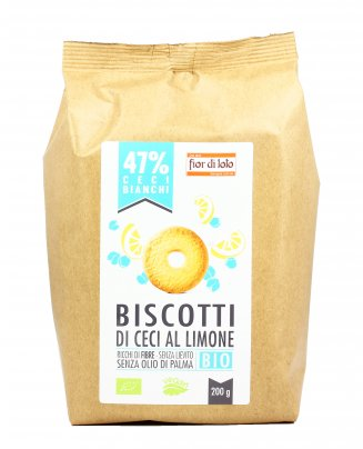 Biscotti di Ceci al Limone Bio