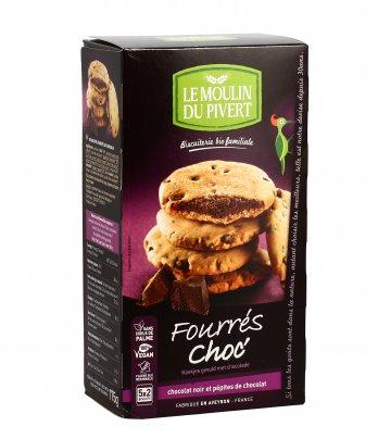 Biscotti Ripieni al Cioccolato - Fourrés Choc'