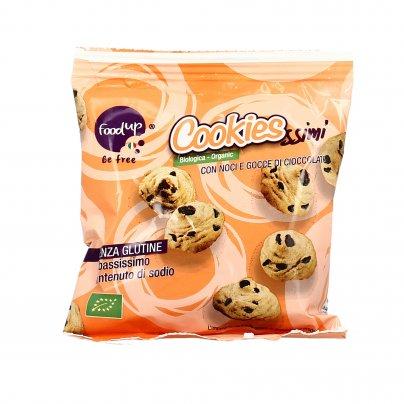 Cookiessimi con Noci e Gocce di Cioccolato - Senza Glutine