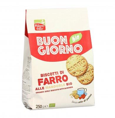 Biscotti di Farro alle Mandorle - Buongiorno Bio