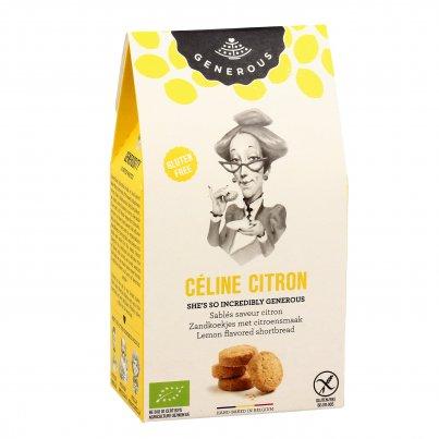 """Biscotti Frollini al Limone """"Céline Citron"""" 120 g"""